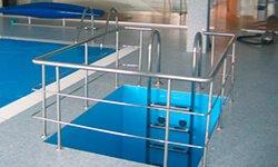 Ограждения для бассейнов из специальной нержавющей стали